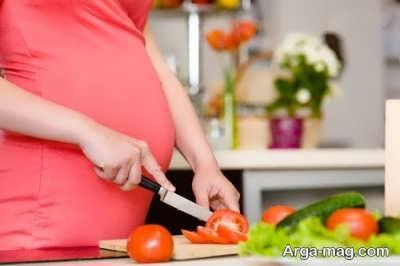 رژیم غذایی در ماه نهم بارداری