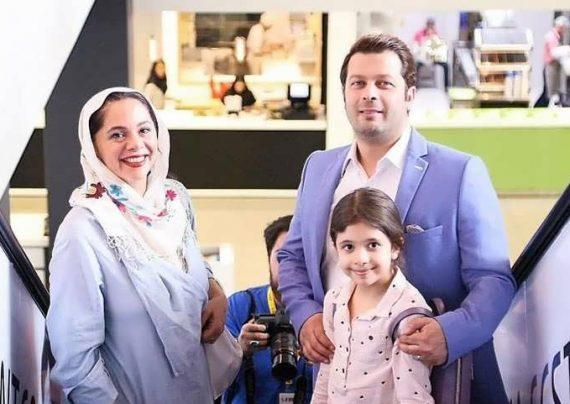 عکس های خانوادگی پژمان بازغی