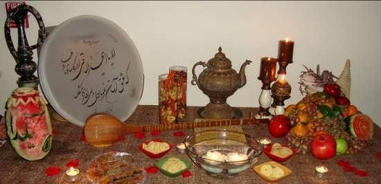 عکس های زیبا و دلنشین برای پروفایل شب یلدا