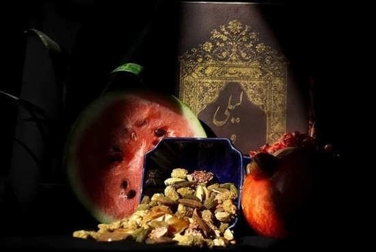 عکس زیبا و جالب برای پروفایل شب یلدا