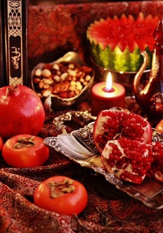 عکس زیبا شب یلدا برای پروفایل