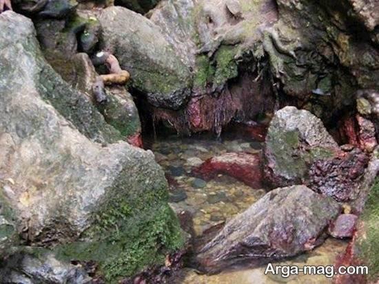 چشمه زیبا در رودسر