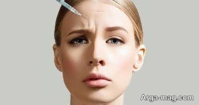 درمان چروک پیشانی زیر نظر متخصص