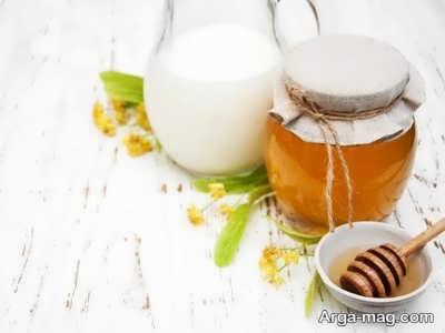 ماسک شیر و عسل مو