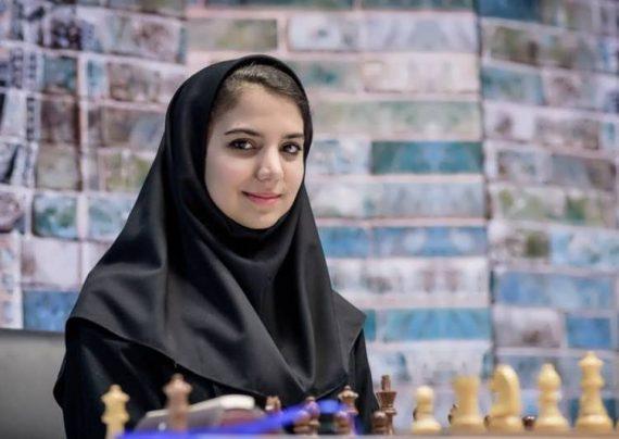 مراسم عقد شطرنج سارا خادم الشریعه