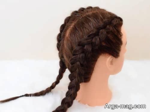 مدل بافت موی کف سر دخترانه