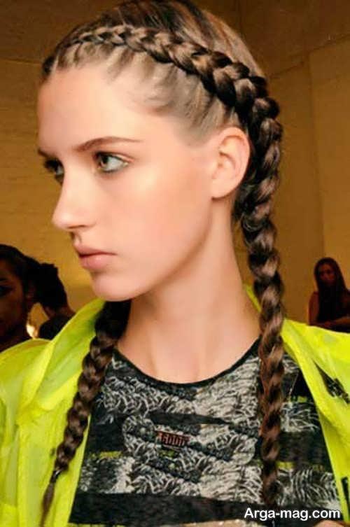 مدل بافت موی دخترانه