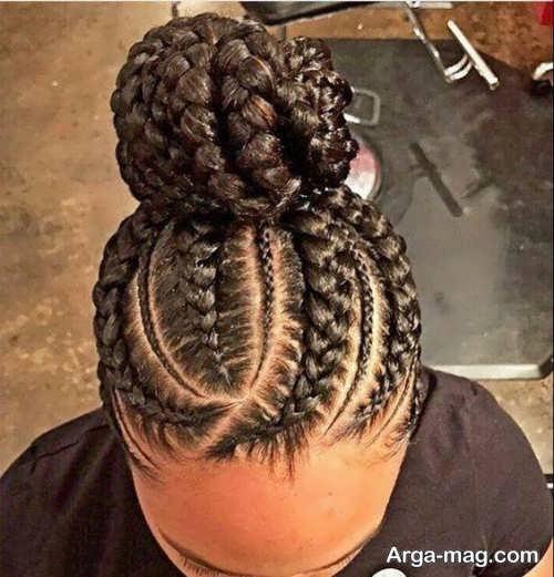 بافت موی زنانه برای کف سر