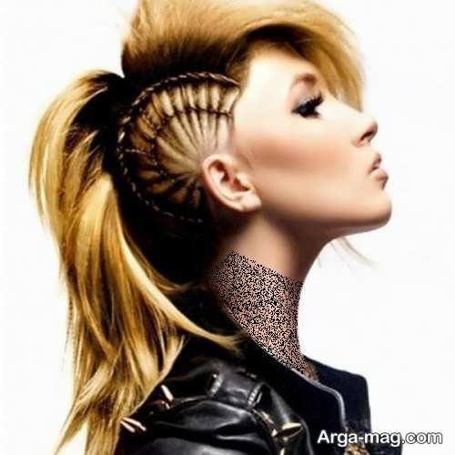 مدل بافت موی زنانه برای کف سر