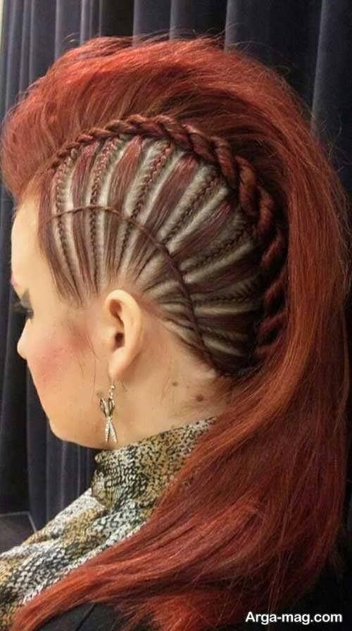 مدل بافت موی کف سر