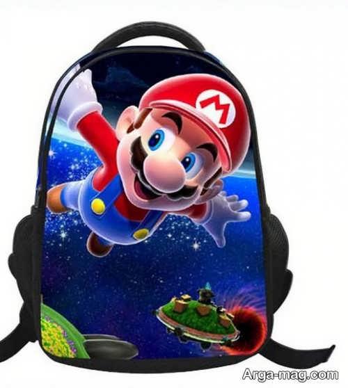 مدل کیف طرح دار مدرسه