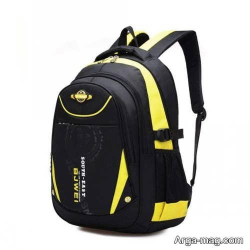 مدل کیف مشکی و زرد