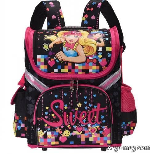 مدل کیف طرح دار برای مدرسه