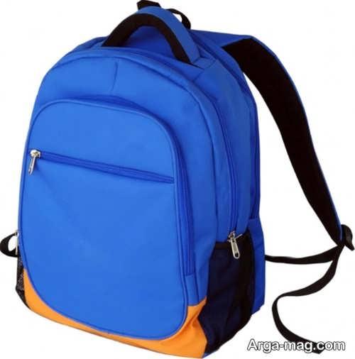 مدل کیف آبی برای مدرسه