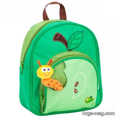 کیف طرح دار مدرسه