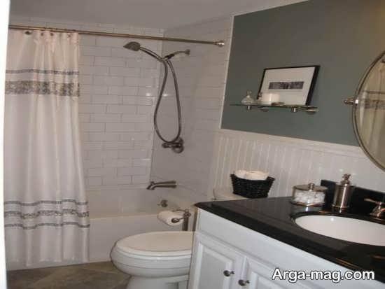 دکوراسیون حمام های کوچک و زیبا با خلاقیت های زیبا در طراحی