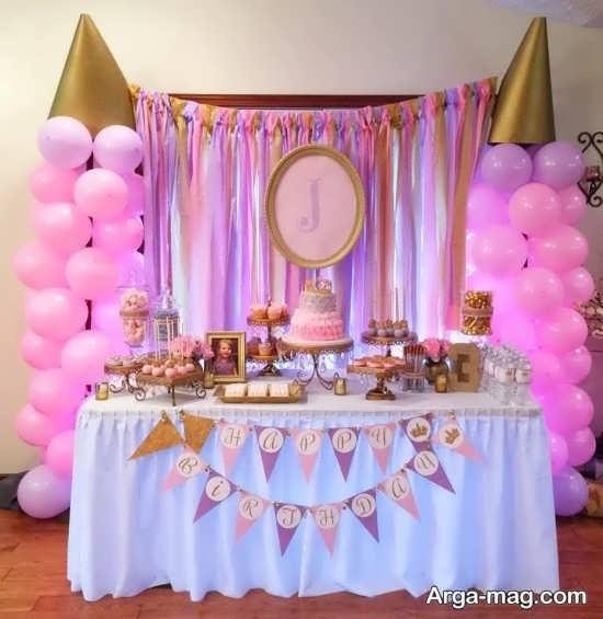 دیزاین جشن تولد شاهزاده