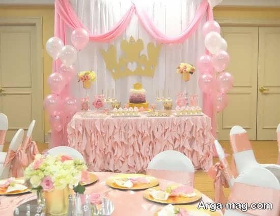 چیدمان جشن تولد شاهزاده