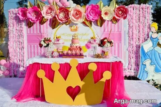 دکوراسیون جشن تولد شاهزاده