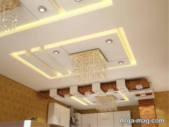 تزیین سقف کناف مغازه