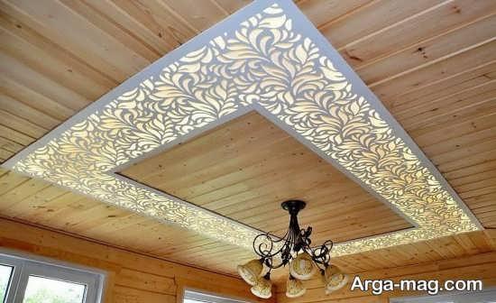 طراحی سقف مغازه با کناف