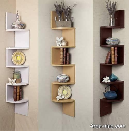۵۵ مدل شلف دیواری مدرن و خلاقانه که دیوار خانه شما را