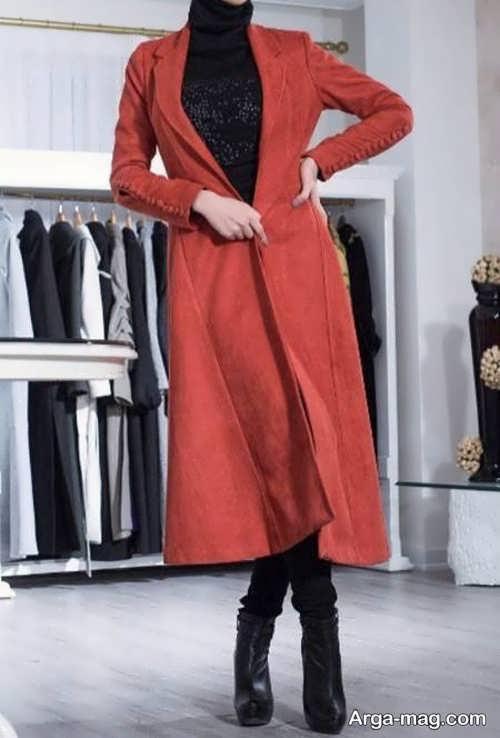مدل مانتو جلوباز زمستانه
