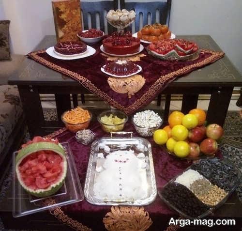 تزیینات جالب برای شب یلدا