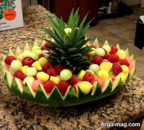 روش هایی برای تزیین هندوانه
