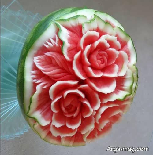 تزیین زیبا هندوانه