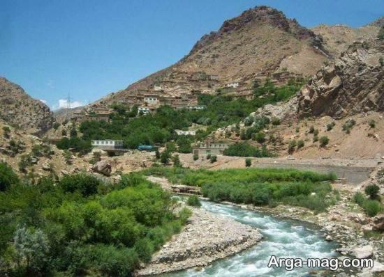 مناطق طبیعی افغانستان