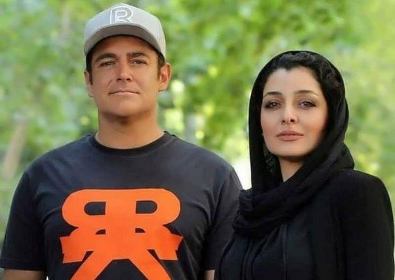 ژست دیدنی از ساره بیات و محمدرضا گلزار