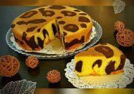 طرز تهیه کیک پلنگی