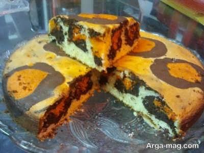 پخت کیک پلنگی