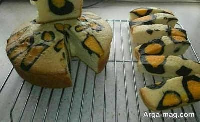 دستور پخت و مواد مورد نیاز برای کیک پلنگی