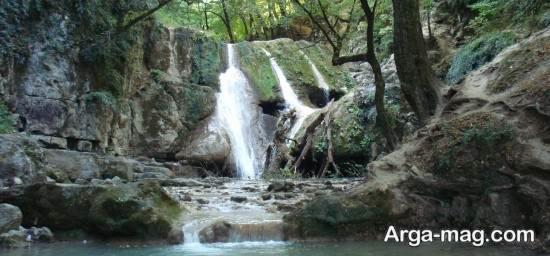 آبشار معروف چالوس