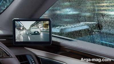نخستین خودروی جهان با آینه های دیجیتال