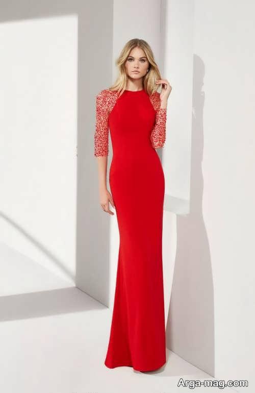 مدل لباس مجلسی ساده 2019