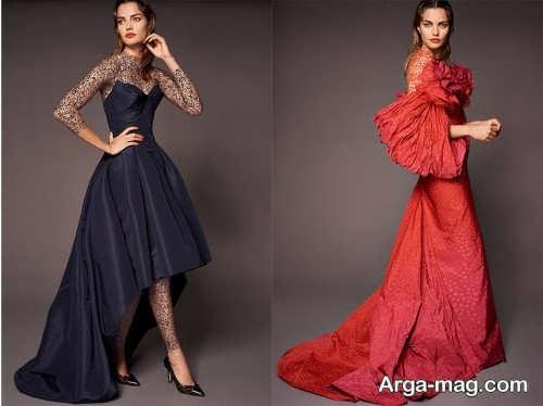 انواع مدل لباس مجلسی 2019