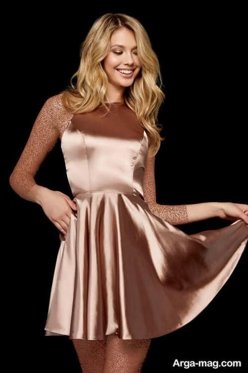 مدل لباس مجلسی 2019 ساده