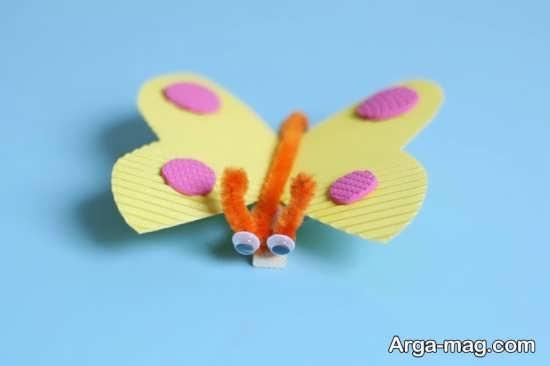 کاردستی پروانه