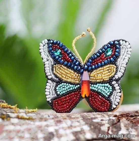 کاردستی با مدل پروانه