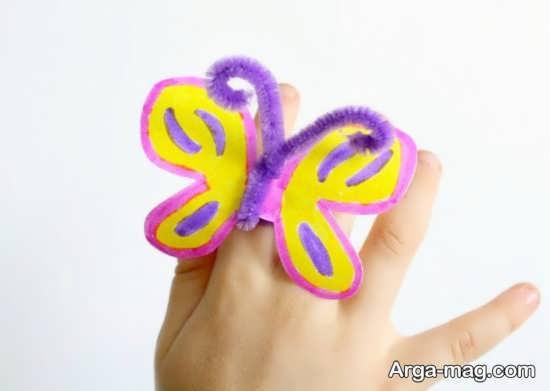 ساخت پروانه برای کودکان