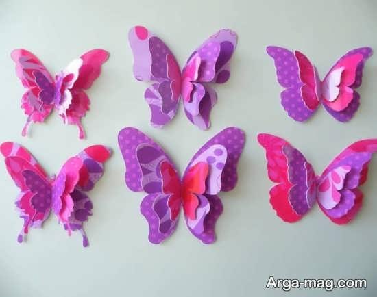 تنوع در ساخت پروانه
