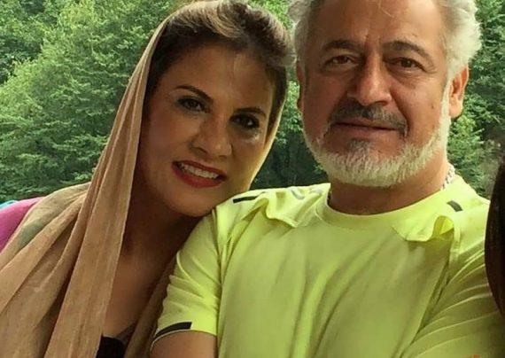 مجید مشیری و همسرش در سالگرد ازدواج