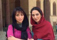 خواهران فرجاد در اکران فیلم مستند