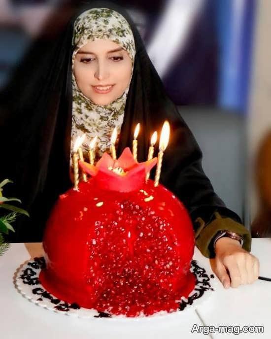 کیک تولد مژده لواسانی