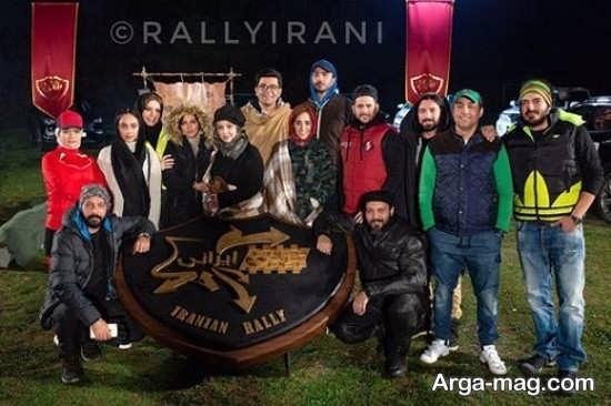 نیوشا ضیغمی در مسابقه رالی ایرانی 2