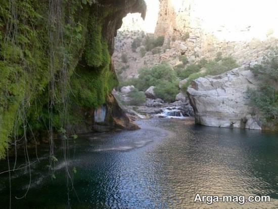 آبشار زیبای نور