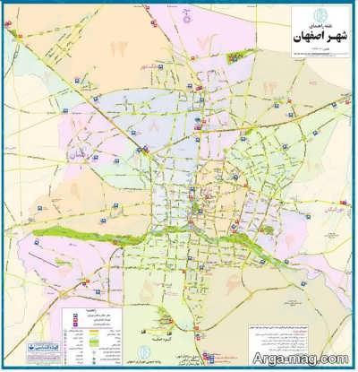 مناطق اصفهان